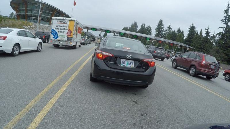 Vancouver BC border crossing