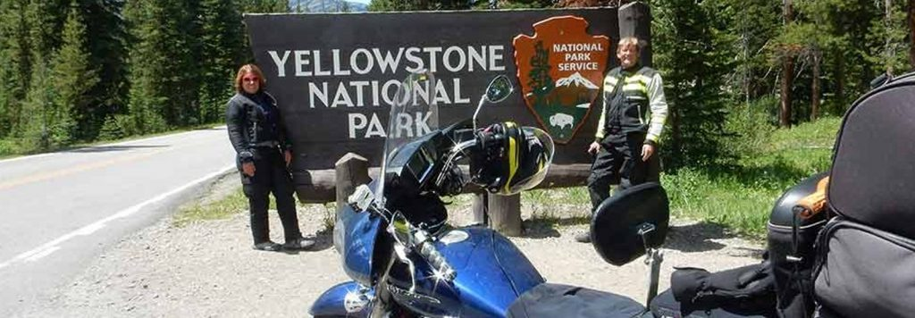 Motorcycle Yellowstone