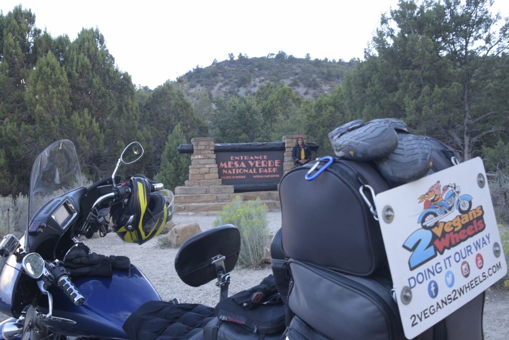 Mesa Verde Entrance Sign
