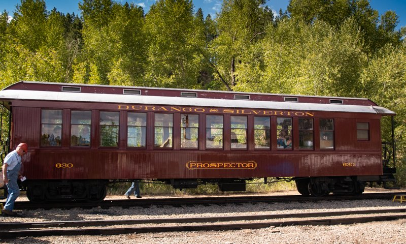 Durango & Silverton Railroad First Class Coach