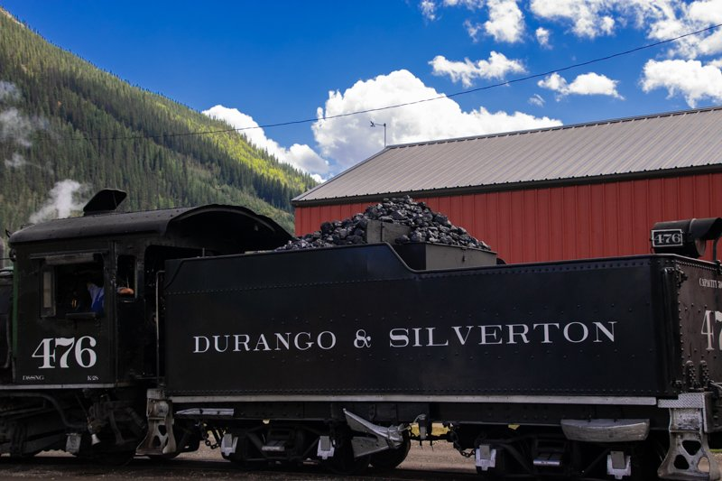 Durango & Silverton Railroad Engine