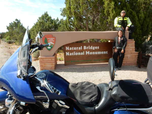 Arches National Park motorcycle trip