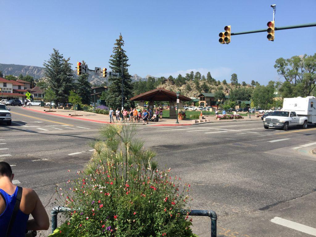 Estes Park Downtown Colorado