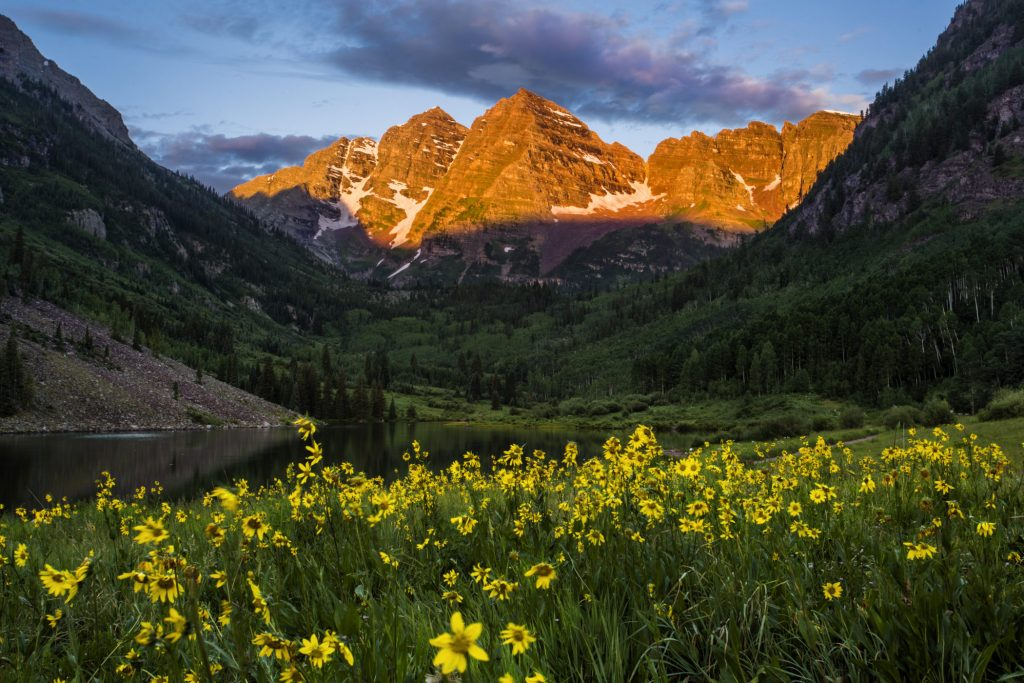 Maroon Bells by Jeremy Swanson