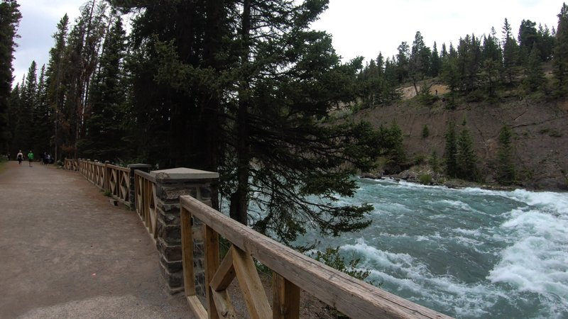Banff AB Bow RIver Trail