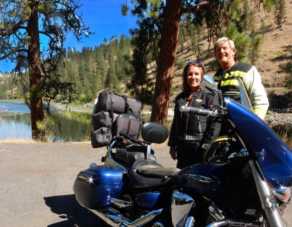 Glacier National Park motorcycle trip