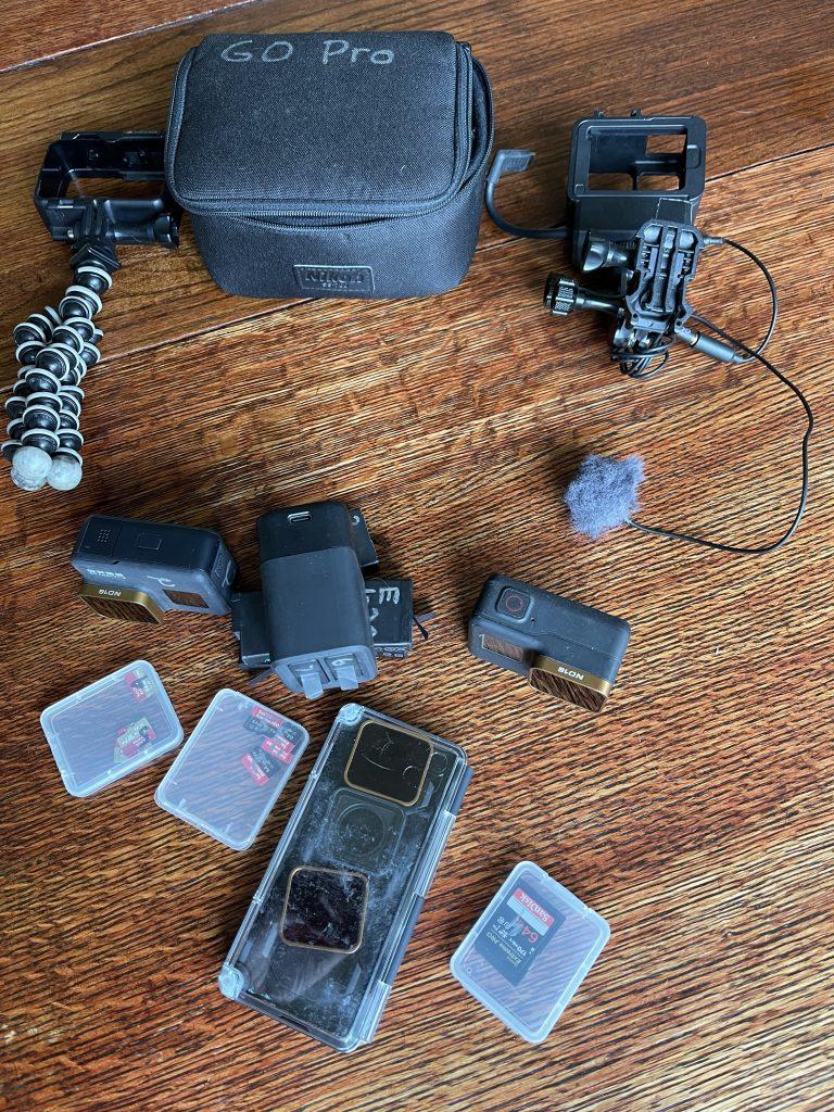 GoPro Camera & Bag